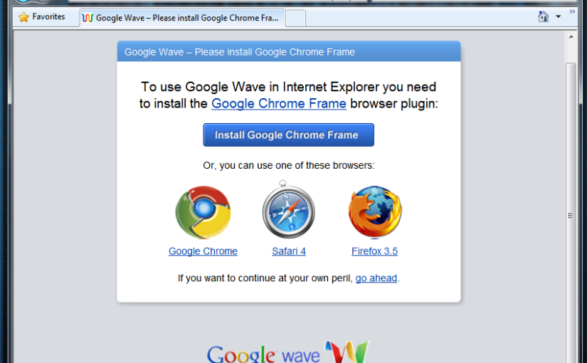Introduction to Google Wave